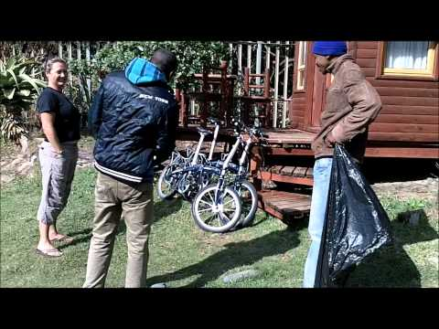 Coast to Coast South Africa on Dahon folding bikes: Day 7.wmv