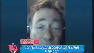 #BDBA2016 - SERGIO DAWI - LOS TEMAS DE LOS REDONDOS LOS TENEMOS TATUADOS