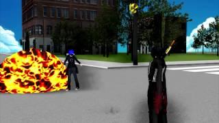 [ฝึกทำMMD] MMD Zero TH Kamen Rider Ex-Aid {Snipe & Ex-Aid}