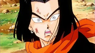 DBZ   Cell Absorbs Android 17