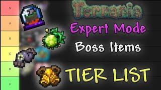 Expert Mode Boss Items TIER LIST // Terraria Comparison Series