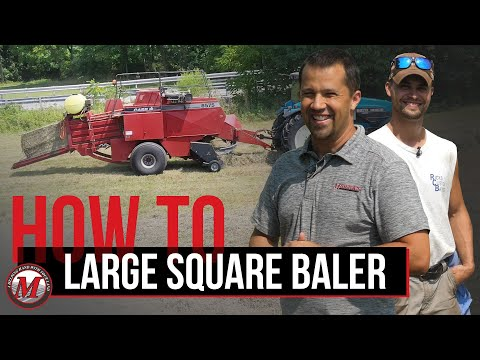 Ride Along: Large Square Baler with Rick's Custom Baling Picture