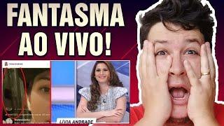 Fantasma Aparece Ao Vivo em Bate-papo da Atriz Livia Andrade! (#128 Minuto Assombrado)