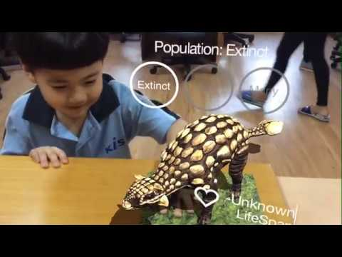 Early Years 2 Explore Augmented Reality Animals