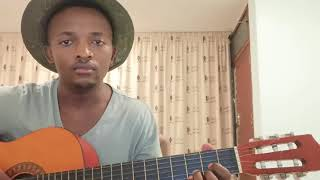 Mlindo The Vocalist & DJ Maphorisa- Amablesser (Easy Acoustic tutorial)