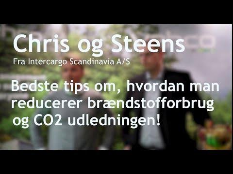 Chris Lyman och Steen Garst, Intercargo Scandinavia,  bedste tips om Eco Driving