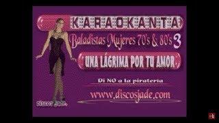 Karaokanta - Estela Núñez - Una lagrima por tu amor