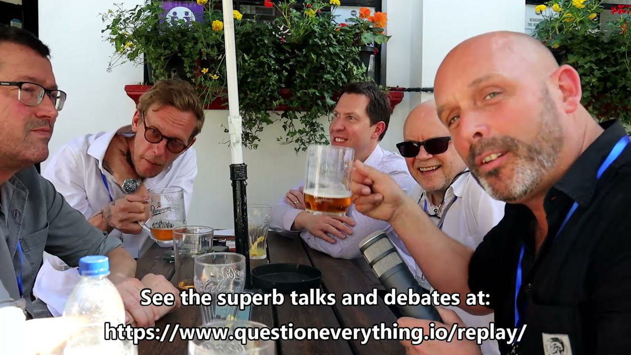 Conversations on Corona from an English Pub! * The Question Everything Summit *