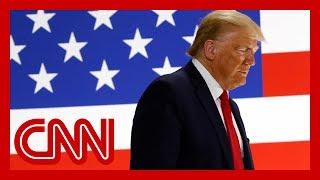 CNN Poll: President Trump losing ground to Biden amid chaotic week