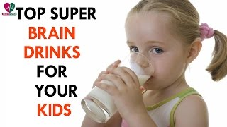 Top super brain drinks for your kids - Health Sutra