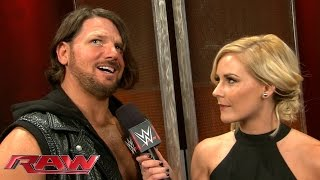 AJ Styles introduces himself to the WWE Universe: Raw, January 25, 2016