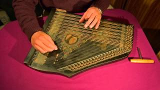 Memory (from Cats) played on a 6-chord zither