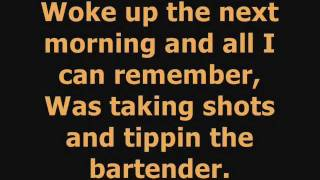 Ludacris -One More Drink- Ft.T-Pain *Lyrics*