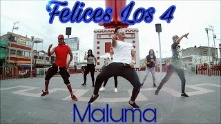 ZUMBA - Felices Los 4 Maluma By Lalo Graykobs Choreography