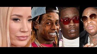 Lil Wayne Birdman and Young Thug CASE UPDATE, Iggy Azalea and Azealia Banks Part 578