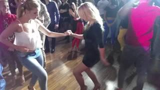 Dancin Italia Bachata Festival 2015 - Social Dance Alba y Monica
