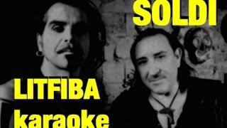 Soldi Litfiba karaoke con testo cover Monterosso Andrea Base musicale introvabile rara
