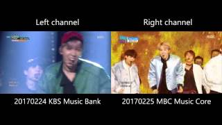 BTS - Not Today (live MR comparison)