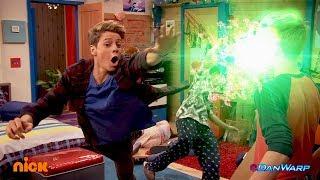 Hudson Turns into Kid Danger!   Danger Games    Dan Schneider