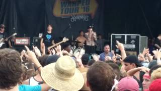 The Story So Far -nerve  live at vans warped tour in orlando 7/2/2016
