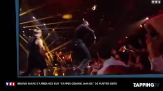 Bruno Mars s'ambiance sur #SapésCommeJamais de Gims !
