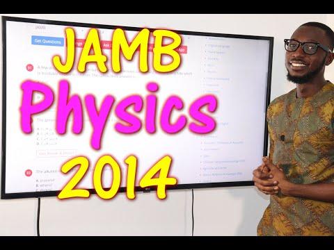JAMB CBT Physics 2014 Past Questions 1 - 14