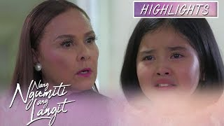 Mikmik gets hurt with what Divina said about her parents | Nang Ngumiti Ang Langit