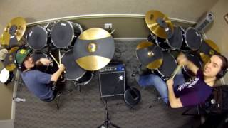 """Youth"" COVER with Zach (drum student)"