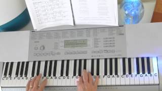 Cover Tutorial ~ My Heart Will Go On ~  Titanic Theme - Key of F ~ LetterNotePlayer ©