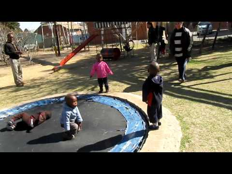 South Africa 2010 – MorningStar Daycare with kids with aids