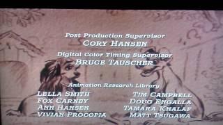 Lady and the Tramp 2006 DVD - Digital Restoration Credits (Full Screen)
