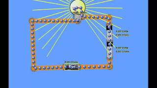 Corrente eletrica: movimento ordenado de eletrões.