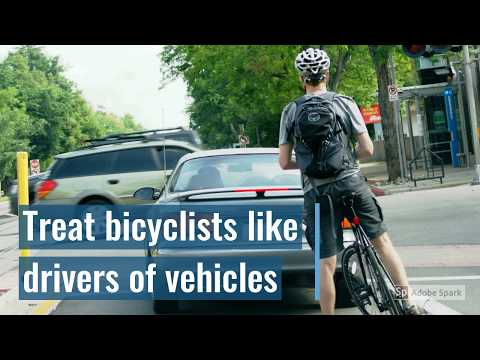 Why Bicyclists Take the Lane