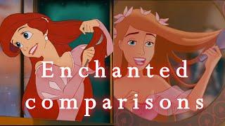 """♥ """"Enchanted"""" vs Disney classics! ♥"""