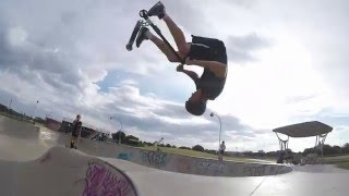 FRONT FLIP WHIP TO A ONE UP!