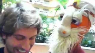 Guru Puppetji and Jeff Foster's Nondual Duel! - at the Science and Nonduality Conference