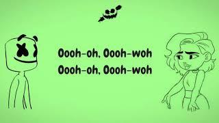 """Annie Marie & Marshmello """"Friends"""" (Lyrics/Lyric video) *OFFICIAL FRIEND-ZONE ANTHEM*"""
