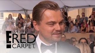 """Leonardo DiCaprio on Meeting The Pope and """"The Revenant"""" 