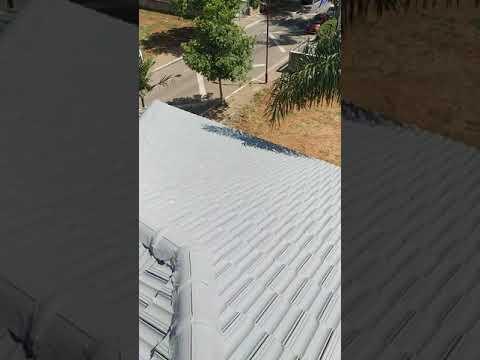 סרטון: שיפוץ וצביעת גג רעפים
