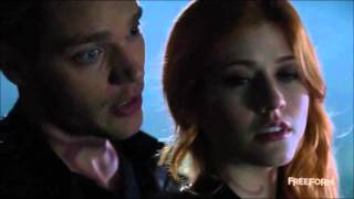 jace & clary - glowing in the dark