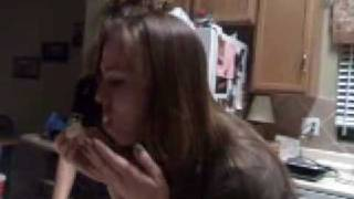 Girls Stuffing Marshmallows