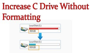 How To Extend C Drive(any Drive) without losing data -Windows 7/8.1/10 in hindi/urdu by free Knowled