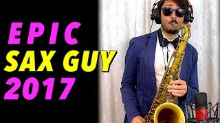 Sunstroke Project - Hey Mamma (EPIC SAX GUY 2017) Saxophone Cover
