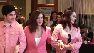 Carmina Villaroel and her twins host Sarap Diba