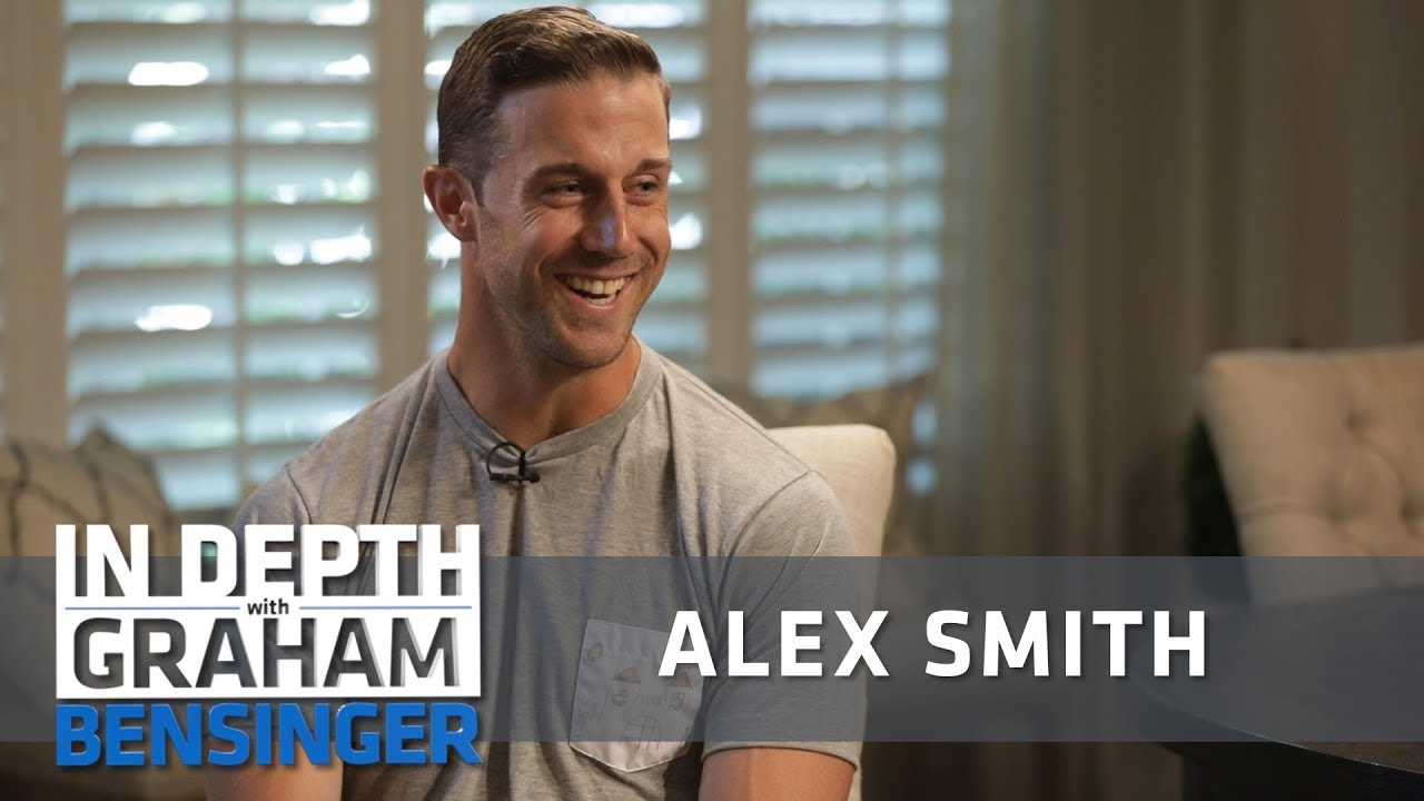 """Alex Smith: Finally learning to say """"F**k it"""""""