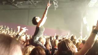 """Amon Amarth """" first kill """" live Besançon 05 april 2017"""