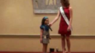 Valya casual wear Cinderella pageant