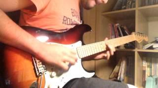 Megadeth - Symphony Of Destruction Solo Cover By Baris Ozgen