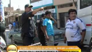 Detienen a prostitutas en cantinas del mercado La Hermelinda