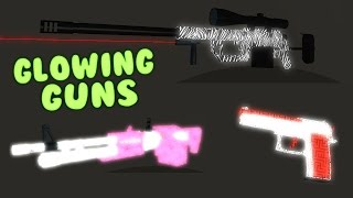 How to get a glowing guns on Phantom Forces
